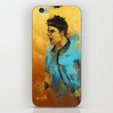 Roger Federer iPhone & iPod Skin