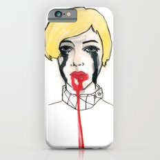Pain - the look when you are mentally stress out - to death. Slim Case iPhone 6s