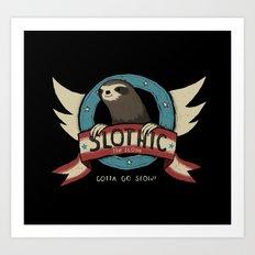 slothic Art Print