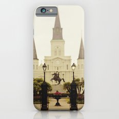 New Orleans Looking Through Jackson Square Slim Case iPhone 6s