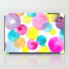 Confetti paint iPad Case