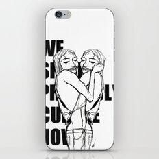Cuddle iPhone & iPod Skin