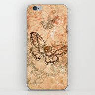 iPhone & iPod Skin featuring Butterflies by Nicky2342