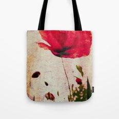 Heavy Poppy Tote Bag