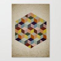 Dimension Canvas Print