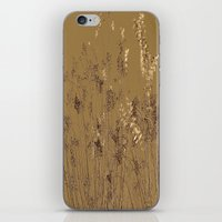 Thin Branches Sepia iPhone & iPod Skin