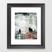 The Rooftop #5 Framed Art Print
