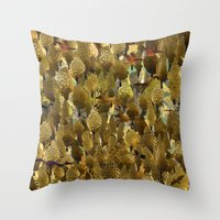 The Forest. Throw Pillow