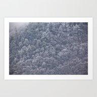 Winter's Chill Art Print