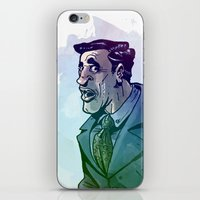 Oficinista At Work iPhone & iPod Skin