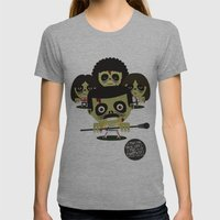 Queen Zombies Womens Fitted Tee Athletic Grey SMALL