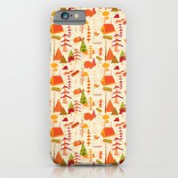 iPhone & iPod Case featuring woods pattern by christopher-james robert warrington