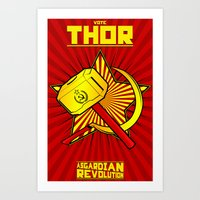 Asgardian Revolution: TH… Art Print