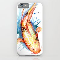 iPhone & iPod Case featuring Koi by Sam Nagel