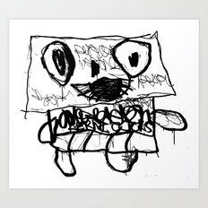 AERNI-BOT 0 Art Print