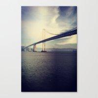 Canvas Print featuring Bay Bridge! by bkool