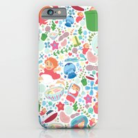 Ponyo Pattern - Studio Ghibli iPhone 6 Slim Case