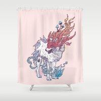 Spirit Animal - Wolf Shower Curtain