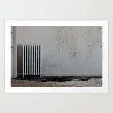LOST PLACES - pissing radiator Art Print