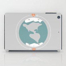 Polos opuestos iPad Case