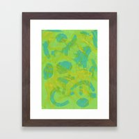 Abstract 155 Framed Art Print