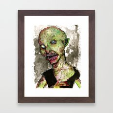 Minor Orc Framed Art Print