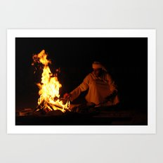 Arabian Fire Art Print