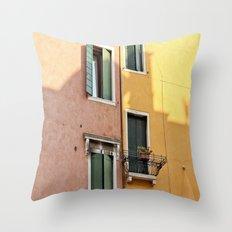Color Windows Throw Pillow