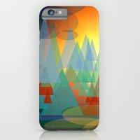 iPhone & iPod Case featuring Alpine Sunset by Miguel Á. Núñez I.