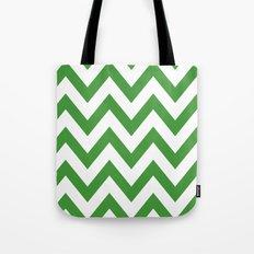MEAN GREEN CHEVRON Tote Bag