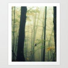 Let the Silence Take Me Art Print