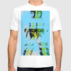 FPJ rhythm and blues Mens Fitted Tee SMALL White