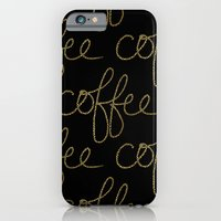 Coffee Dots iPhone 6 Slim Case