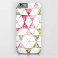 iPhone & iPod Case featuring Flora Quilt by Michaela Palmer