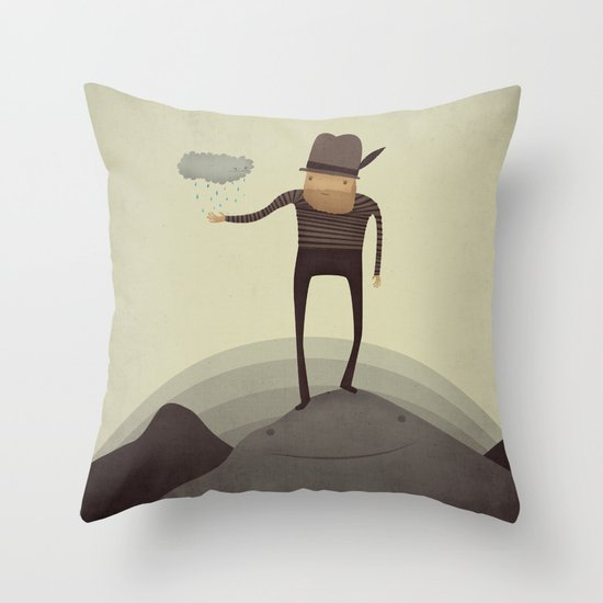 Hey Squirt!  Throw Pillow