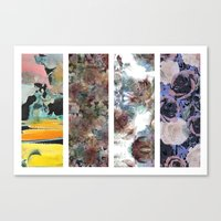 Art textiles Canvas Print