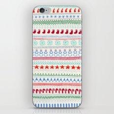 Christmas Doodles iPhone & iPod Skin