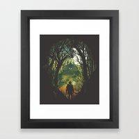It's Dangerous to go Alone V.2 Framed Art Print