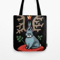 King of Fools 2 (Blue Rabbit) Tote Bag