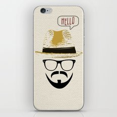 Hello Nowhere Man iPhone & iPod Skin