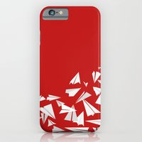 iPhone & iPod Case featuring Paper Planes by Becky Gibson
