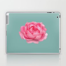 Rose on mint Laptop & iPad Skin