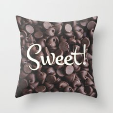 Sweet! Throw Pillow