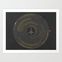 I'll Tell You A Riddle Art Print