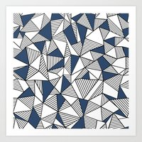 Abstraction Lines With N… Art Print