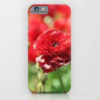 iPhone & iPod Case featuring Scarlet Field by Masharra Mysti