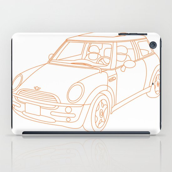 My Mini Cooper iPad Case