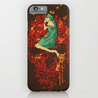 iPhone Cases featuring Roses are red but why do you look so blue by Budi Kwan