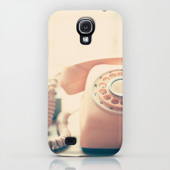 Close up Pink Retro Telephone iPhone & iPod Case