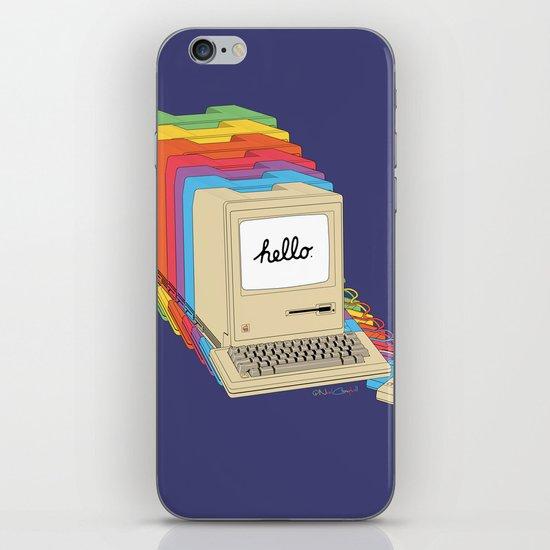 Macintosh Cascade iPhone & iPod Skin